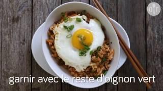 Fried Rice au kimchi (Kimchi Bokkeumbap)