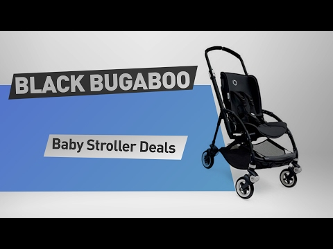 Black Bugaboo Baby Stroller Deals