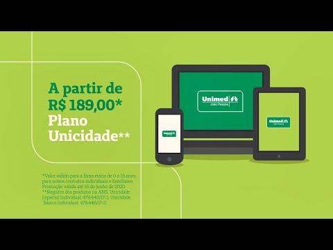 Adquira planos da Unimed JP pela internet