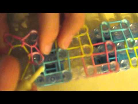 How to make a zigzag rainbow loom bracelet