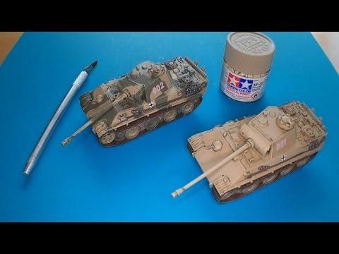 Italeri 1:72 Panther Modellbausatz Panzer von Panzerfux.de