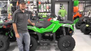 6. 2017 Arctic Cat Alterra 700 XT EPS Team Arctic Green