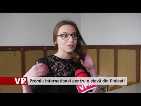 Premiu internațional pentru o elevă din Ploiești