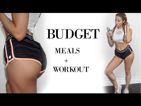 Flat Stomach + Bigger Butt | Meals & Workout 2017 (видео)