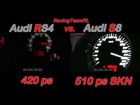 audi rs4 vs audi s8