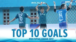 Video TOP 10 GOALS : Pro Futsal League 2017 MP3, 3GP, MP4, WEBM, AVI, FLV Januari 2018