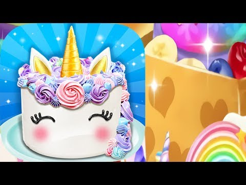 Best Unicorn Cake Game For Kids - Cooking Games For Kids Gameplay