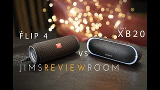 Sony XB20 vs JBL Flip 4 COMPARISON