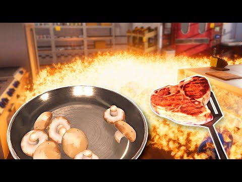 Amazing Food Causes Kitchen Explosion! - Cooking Simulator Gameplay