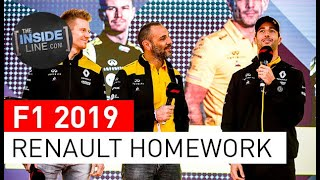 RENAULT F1 TEAM: MORE WORK NEEDED