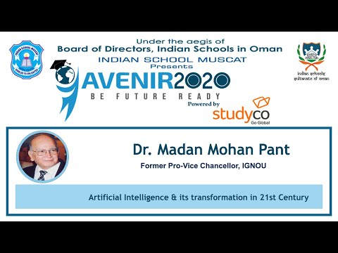 Artificial Intelligence & its transformation in 21st Century. Dr. Madan Mohan Pant