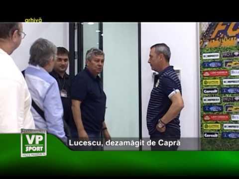 Lucescu, dezamăgit de Capră