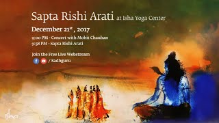 Sapta Rishi Arati on Dec 21st