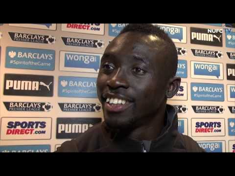 Video: Papiss Cisse, John Carver and Tim Krul after Newcastle's win over Aston Villa