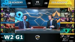 Video Cloud 9 Academy vs Golden Guardians Academy | Week 2 NA Academy League Summer 2018 | C9A vs GGSA MP3, 3GP, MP4, WEBM, AVI, FLV Juni 2018
