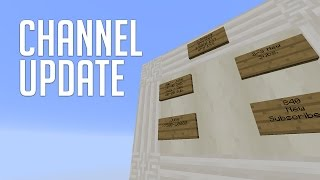 Channel Update: VIDEO SCHEDULE, RESOLUTIONS, AND MORE!