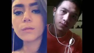 Smule thalita latief feat Nugi _Jika(cover melly goeslow)