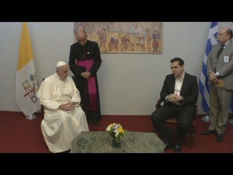 Συνάντηση του Αλ. Τσίπρα με τον Πάπα Φραγκίσκο