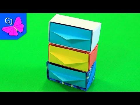 Как сделать из оригами шкаф