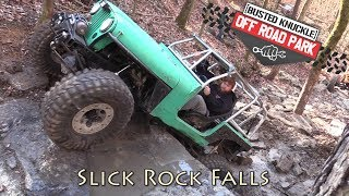 Download Video Trail Bouncing Slick Rock Falls at Busted Knuckle Off Road Park MP3 3GP MP4