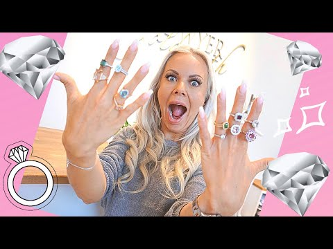 DIAMONDS are A GIRL´S BEST FRIEND / picking up my wedding ring