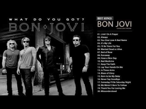 Bon Jovi Greatest Hits Full Album- Best Songs Of Bon Jovi Nonstop Playlist Mp3