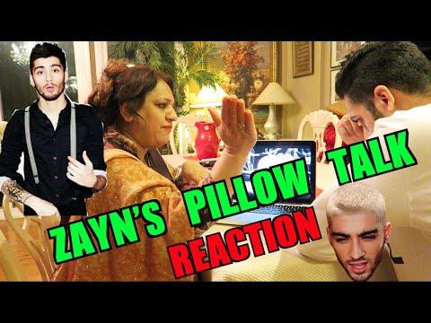 MOM REACTS TO ZAYN'S PILLOW TALK!
