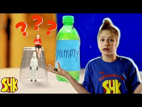 Super Shrinking Soda And The Mystery Box Unboxing!