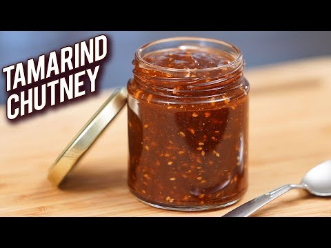 Sweet And Sour Tamarind Chutney – Instant Chutney For Chaat – Quick & Easy Chutney Recipe – Ruchi