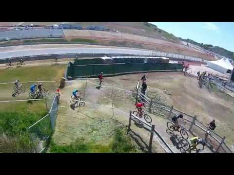 2013 Sea Otter Men's Pro MTB Short Track Race – QuadCopter Aerial