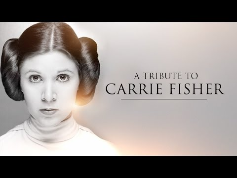 Star Wars A Tribute to Carrie Fisher