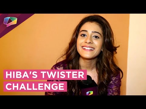 Hiba Nawab Takes Up The Tongue Twister Challenge | Exclusive