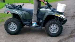 8. 2012 Arctic Cat diesel problems
