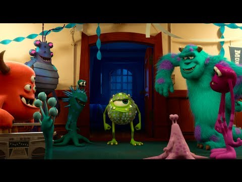 Pixar's Monsters University Teaser Trailer
