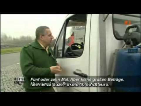 Polak kontrolowany przez niemiecką policję