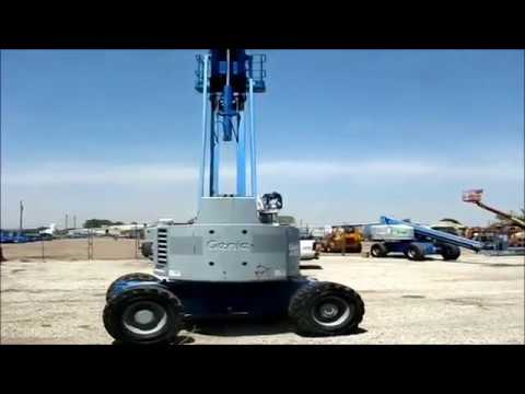 1996 Genie Z-60/34 articulating boom lift for sale | sold at auction June 14, 2012