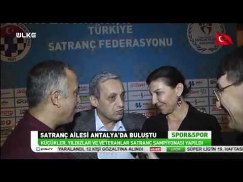 Ülke TV - Spor&Spor - Türkiye Küçükler, Yıldızlar ve Emektarlar Şampiyonaları - 30 Ocak 2017