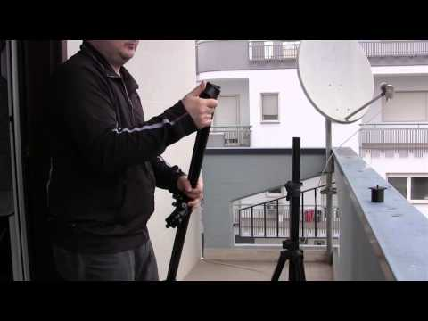 Adattatore per stativi casse per trasformarli in cavalletti video (per slider, testa fluida ecc)