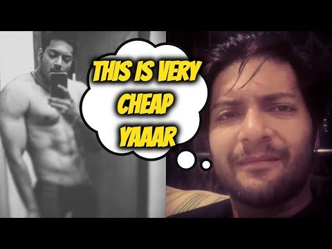 Ali Fazal Reaction On His Leaked Nude Pictures