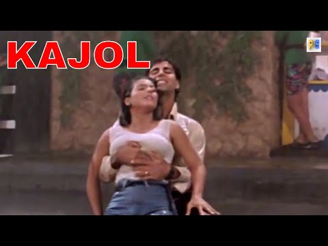 Akshay Kumar Fun With Kajol In A Song