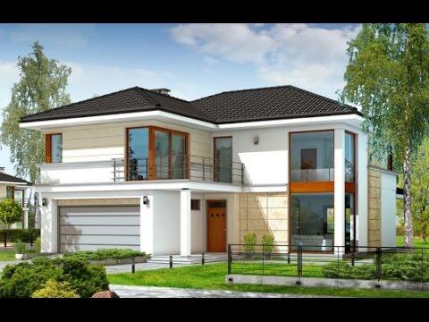 Projekt domu Riwiera http://www.mgprojekt.com.pl/riwiera