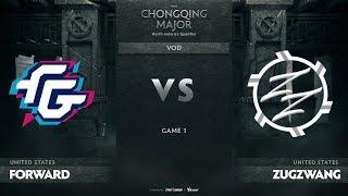 Forward Gaming vs Zugzwang, Game 1, NA Qualifiers The Chongqing Major
