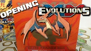 Opening a Pokemon TCG Mega Charizard Y Evolutions Elite Trainer Box - I'M SO HAPPY! by Flammable Lizard