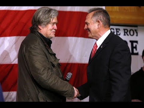 Steve Bannon campaigns with Roy Moore | NCB