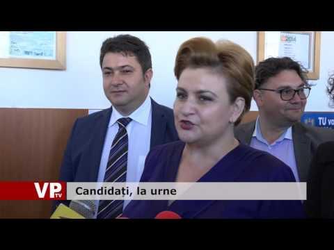 Candidați, la urne
