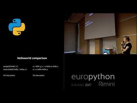 Jussi Pakkanen - Meson: Compiling The World With Python