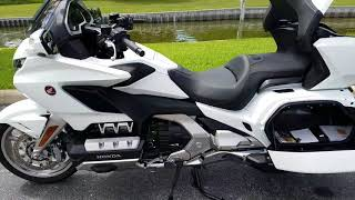 2. 2018 Honda Gold Wing Tour Pearl White (DEMO)