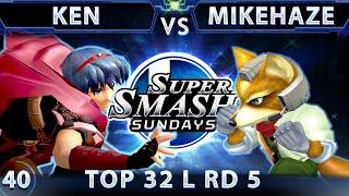 Ken vs. MikeHaze, SSS 40