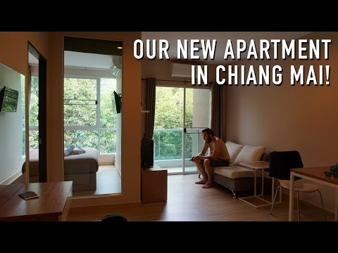 OUR NEW APARTMENT IN CHIANG MAI!!