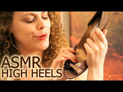 multiple heels and shoes - Amazon Wish List @ http://amzn.com/w/26WZISMTNR2Y Exclusive Content @ http://www.patreon.com/psychetruth ASMR High Heel Shoes Tingles - Whisper, Tapping, Scr...